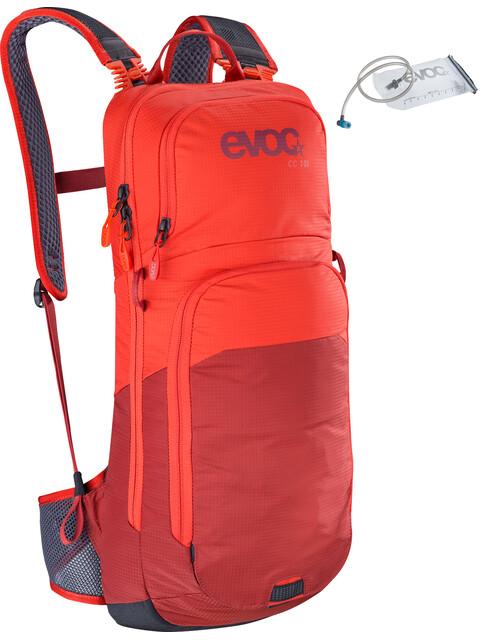 EVOC CC Backpack 10l + Bladder 2l Orange/Chili Red